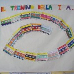 Il trenino degli alunni