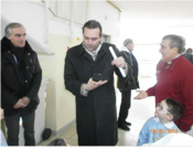Visita del Sindaco De Magistris del 10 Febbraio 2012