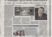 Articolo sul Corriere della Sera del 17 Luglio 2012-Progetto Fondazione Amiotti