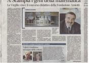 Articolo sul Corriere della Sera del 17 Luglio 2012-Progetto Fondazione Amiotti