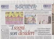 I sogni son desideri (articolo su la Repubblica del 23 Settembre 2012)